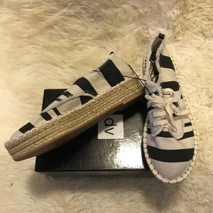 New striped espadrille sneakers